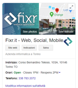 che cos'è google my business